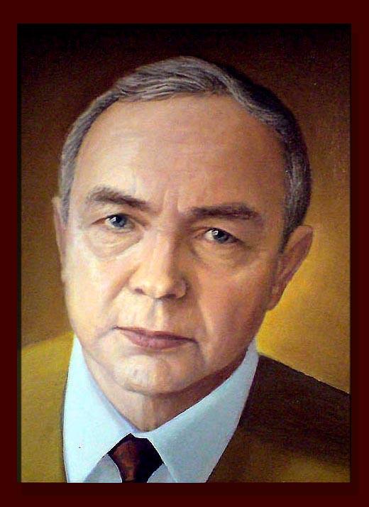 Портрет картина холст масло моя